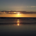 Sunset in Ocean Shores