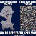 seattle vs 12th man